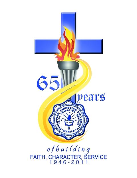 PCU Manila 65th Anniversary logo