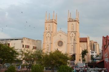 The Church of St. Francis Xavier