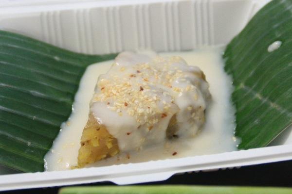 Vietnamese Banana Sweet Cake