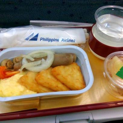 Philippine Airlines Inflight Meal