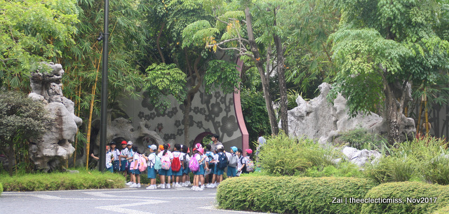 Children on field trip, Gardens by the Bay, Singapore