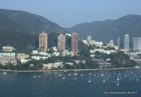 View from Cable Car, Ocean Park, Hong Kong