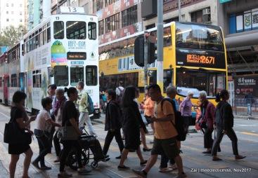 Busy Hong Kong Street