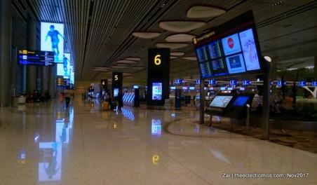 Changi Airport Terminal 4 Singapore