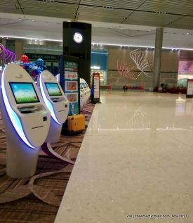 Departure Area, Changi Airport Terminal 4, Singapore