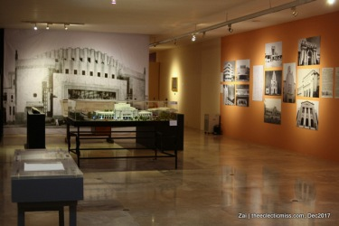 the Juan Arellano Exhibit in Metropolitan Museum of Manila