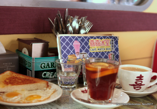 Breakfast at Cafe Matchbox, Hong Kong