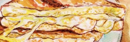 Bun Appetit Shrimp Grilled Cheese