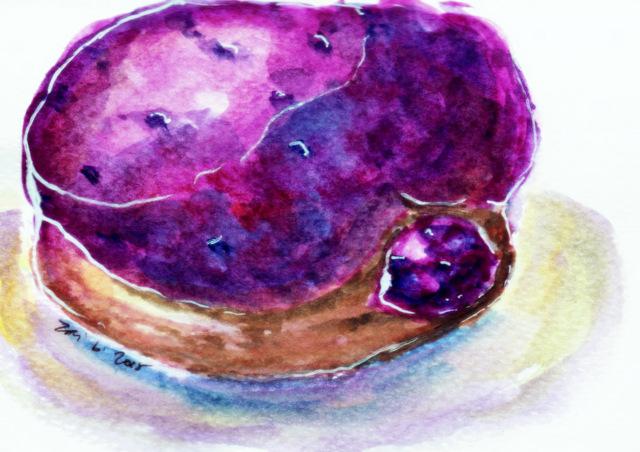 Blueberry Lemon- Poison Doughnuts