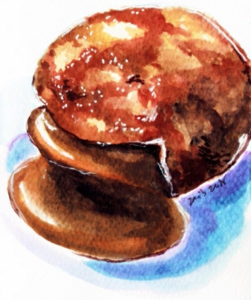 Creme Brulee- Poison Doughnuts