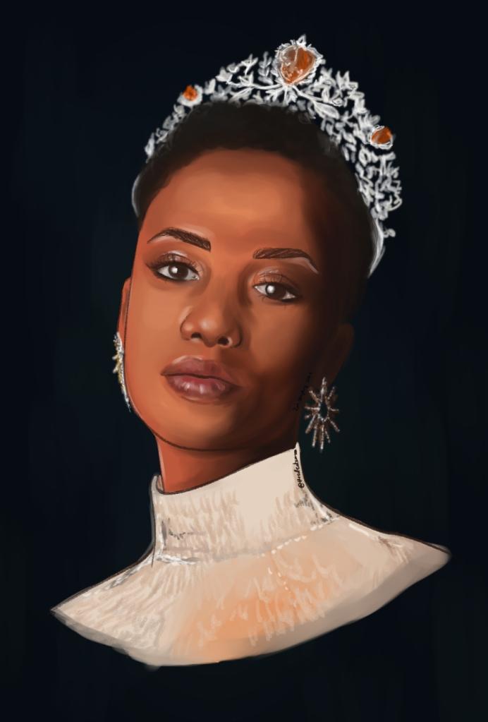 Mis Universe 2019 Zozibini Tunzi